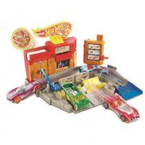 Hot Wheels Desafios na Cidade Pizzaria Radical - Mattel - Mattel