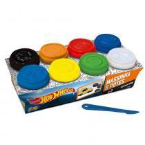 Hot Wheels Massinha 8 Potes - Fun Divirta-se - Hot Wheels