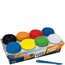 Hot Wheels Massinha 8 Potes - Fun - Fun Brinquedos