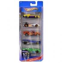 Hot Wheels Pack 5 Peças - Mattel