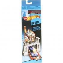Hot wheels pistas básicas robô destruidor - blr01 - mattel - Mattel