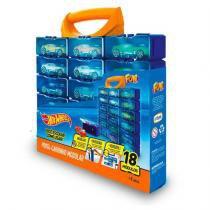 Hot Wheels Porta Carrinhos Modular 18 Divisões - Fun Toys -