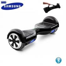 "Hoverboard 6.5"" Preto Bluetooth  - Bateria Samsung - Smart balance wheel"