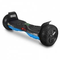 Hoverboard Balance Wheel Monster Ate 16 Km/H Azul e Carbono  Two Dogs -