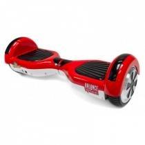 Hoverboard Balance Wheel Skate Eletrico Bivolt Vermelho e Branco  Two Dogs -