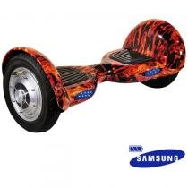 """Hoverboard Scooter Smart Balance 10"""" Flame Bateria Samsung. - Mymax"""