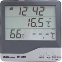 HT210 - Termohigrômetro Duplo ICEL -