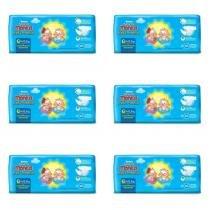 Huggies Tripla Proteção Fralda Infantil G C/9 (Kit C/06) -