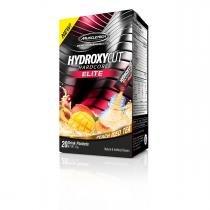 Hydroxycut Hardcore (20 saches) - Muscletech - Chá de Pêssego -
