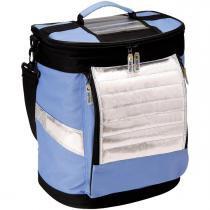 Ice Cooler Dobrável Azul Com Alças 18 Litros 3627 Mor - Mor