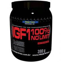IGF No Limit Morango 390g - Probiótica com Alto Índice de Proteínas