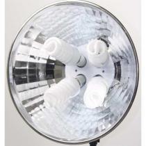 Iluminador Refletor Profissional 120 watts com 4 Lampadas - 110V - Greika