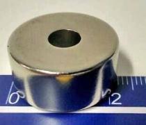 Imã De Neodímio N45 22mm X 6,5mm X 10mm , 1pç Super Forte - Fácil negócio importação