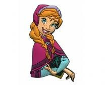 Ímã De Pvc - Disney - Anna - Importado