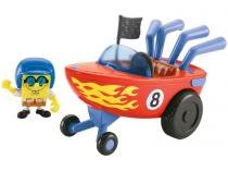 Imaginext - Bob Esponja - Carro Hamburguer - Hot Rod Boat Fisher-Price