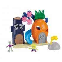 Imaginext Bob Esponja Casa Abacaxi - Mattel -