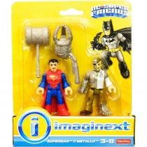 Imaginext Boneco DC Superman e Metallo - Fisher-Price - Fisher-Price