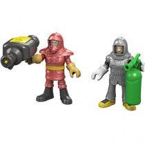 Imaginext city bombeiros mattel bft48 - Mattel