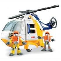 Imaginext helicoptero aventura mattel n1396 030381 - Mattel