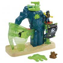 Imaginext - Ilha Pirata Fantasma - Fisher Price - Fisher Price