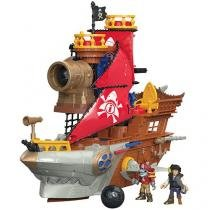 Imaginext Navio Pirata Tubarão Fisher-Price - DHH61