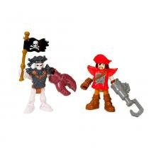 Imaginext - Pirata e Esqueleto - Fisher Price - Fisher Price