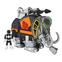 Imaginext power ranger zord rangers mastodonte mattel chj01/chj07 058620 - Mattel
