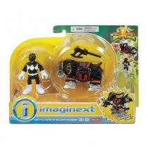 Imaginext Power Rangers Slip Black - Mattel - Mattel