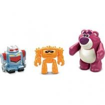 Imaginext toy story 3 coisa, sparky e lotso mattel t2738/t2741 040816 - Mattel