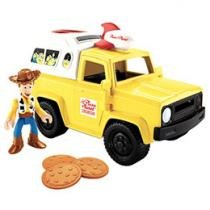 Imaginext Toy Story Carro Pizza Planet - Mattel