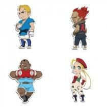 Imãs Street Fighter Kit I Cute - Fabrica Geek