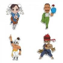 Imãs Street Fighter Kit J Cute - Fabrica Geek