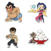 Imãs Street Fighter Kit Q Cute - Fabrica Geek