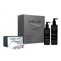 Imecap Hair Queda Intensa Kit (Shampoo + Loção + 30 Cap) - Imecap