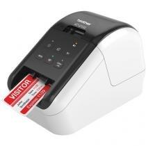 Impressora de Etiquetas Brother QL810W  - Monocromática com WiFi