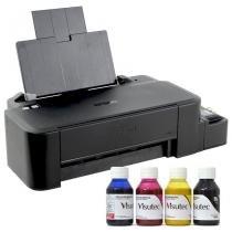 Impressora epson ecotank l120 bulk ink + 400ml tinta sublimatica -