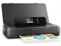 Impressora Jato de Tinta Color HP CZ993AAC4 OJ 200 Mobile Portatil 22PPM Wifi Direct -