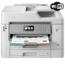 Impressora Multifuncional Brother MFC-J6935DW Jato de Tinta Colorida Wireless 110V -