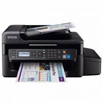 Impressora Multifuncional L575 WIFI Tanque Tinta com Fax Preto - Epson - Epson