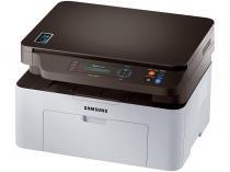 Impressora Multifuncional Samsung SL-M2070W - Laser Wi-Fi Preto e Branco USB NFC