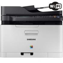 Impressora Multifuncional Samsung Xpress SL-C480FW Laser Color Wireless 110V -