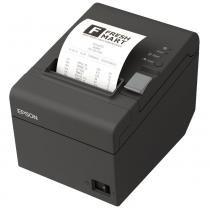 Impressora Térmica Não Fiscal com Guilhotina TM-T20 BRCB10083 Ethernet Qr Code Epson - Epson