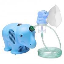 Inalador NS Inalafante Bivolt Azul com Protetor Térmico - NS