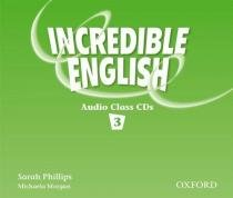 Incredible english 3 - class audio cd (3) - Oxford do brasil