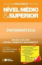 Informatica - nivel medio e superior - Saraiva juridica univ.  concursos