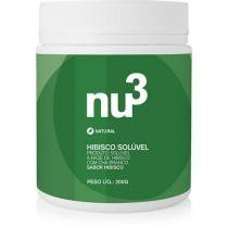 Instantâneo, Hibisco Solúvel - Nu3 natural