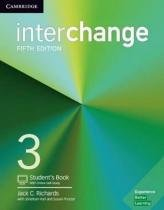 Interchange 3 sb with online self-study - 5th ed - Cambridge university