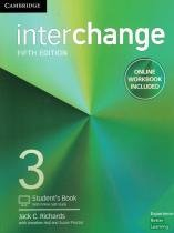 Interchange 3 sb with online self-study and online wb - 5th ed - Cambridge university