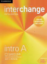 Interchange intro a sb with online self-study and online wb - 5th ed - Cambridge university