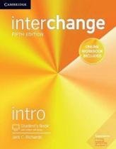 Interchange intro sb with online self-study and online wb - 5th ed - Cambridge university
